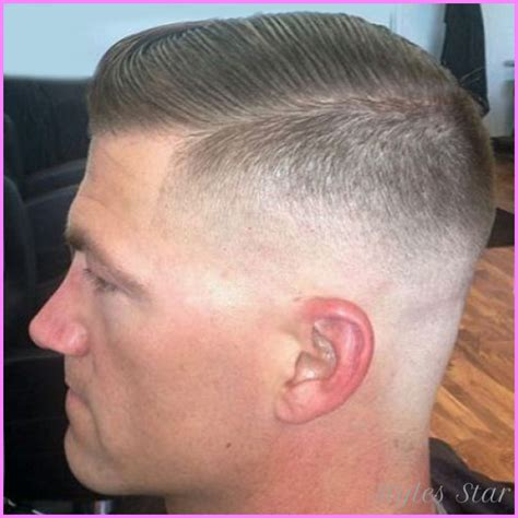 cute haircuts for the solider or above medium fade haircut military stylesstar com