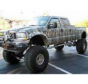 Camo Jacked Up Chevy Truck  Car Release Date &amp Reviews