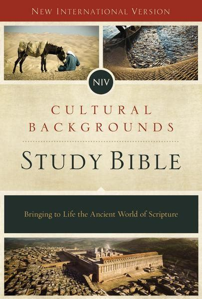 niv the s study bible hardcover color receiving god s for balance and transformation books niv cultural backgrounds study bible hardcover