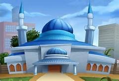 Cartoon Mosque
