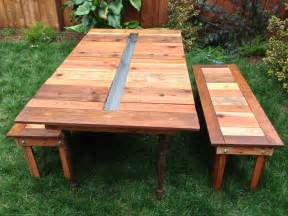 Building Plans For Wooden Picnic Table by 24 Picnic Table Designs Plans And Ideas Inspirationseek Com