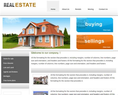 23 Realtor Website Themes Templates Free Premium Templates Real Estate Site Template