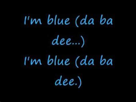 blue song i m blue eiffel 65