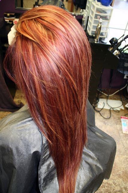 copper hair with white tuff styles 11 best red hair images on pinterest braids bright red