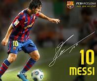 Lionel Messi Signature