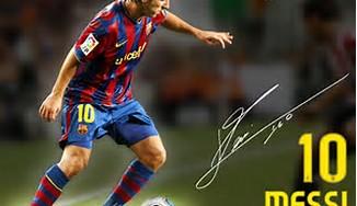 Wallpaper Lionel Messi Player