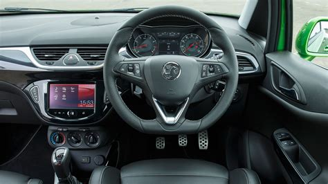 vauxhall corsa inside vauxhall corsa vxr 2015 review by car magazine