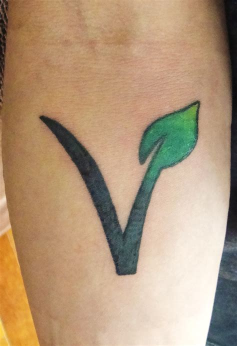 vegetarian vegan tattoo vegetarian friend