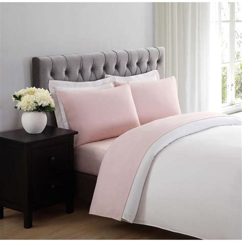 soft bed sheets truly soft everyday blush twin xl sheet set ss1658bstx