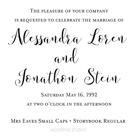 wedding font mrs eaves small caps mrs eaves small caps storybook wedding fonts custom