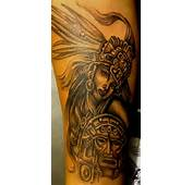 Aztec Warrior Woman Tattoo