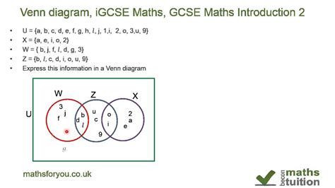gcse maths sets venn diagrams venn diagram revision questions image collections how to