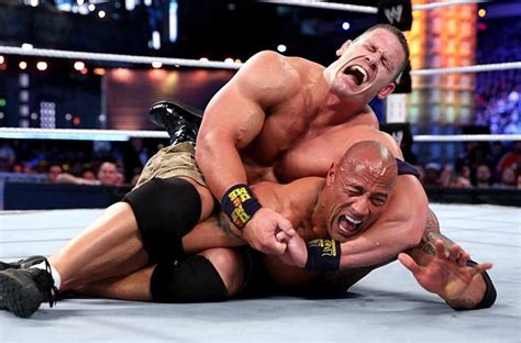Celana Vs Rok wrestlemania 29 review cena beats the rock to become chion review st louis
