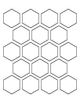 hexagon pattern generator 2 inch hexagon pattern cards pattern pinterest