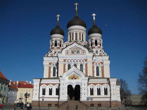 catedral de alejandro nevski de tallin