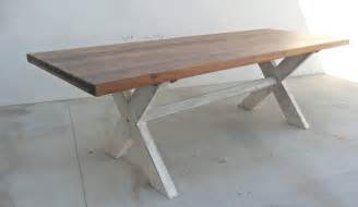 8 Ft Dining Table Dining Table 8 Ft Table Trestle Table Reclaimed Wood