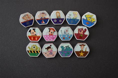 Satu Set Pinset disney trading pins ferris wheel pin set mickey mouse