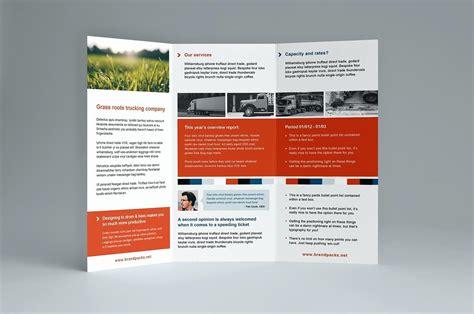 3 Fold Brochure Template Indesign Adobe Indesign Tri Fold Brochure Template