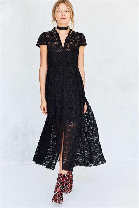 black lace dresses shop