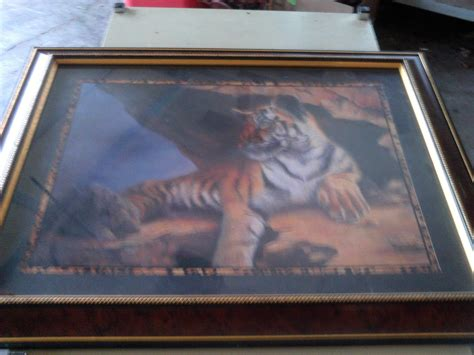 home interior tiger picture home interiors tiger picture vintage antique new party