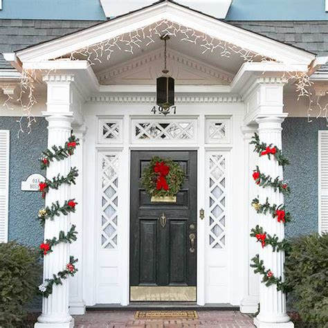front door ideas life and love front door holiday decor