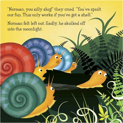 norman the slug with norman the slug with the silly shell scholastic book club