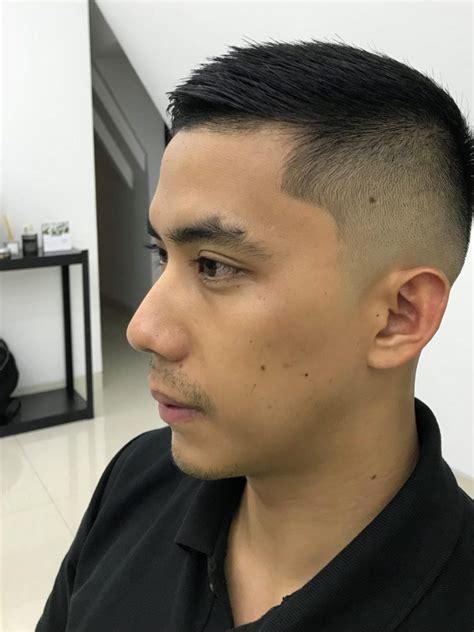gaya rambut pendek pria lancip belakang cahunitcom