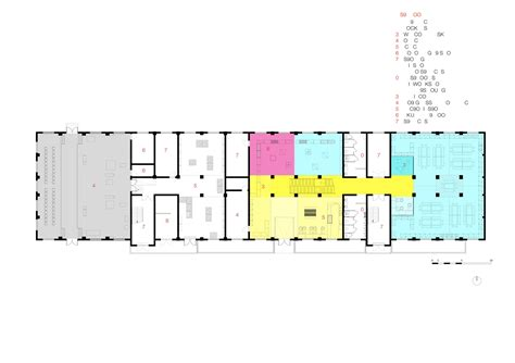 Layout Of Floor Plan gallery of kids museum of glass coordination asia 27