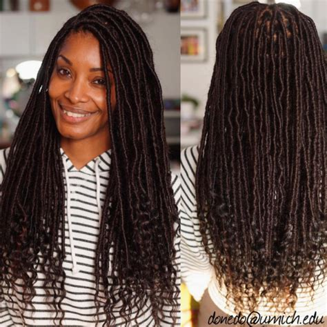 what typr of hair is neede for goddess braids what kind of hair is used for goddess locs find your