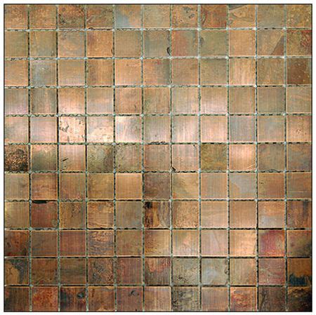 metal tile copper antique 1 stainless steel brushed tile