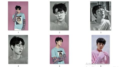 Photocard Exo Dokyungsoo Lucky One Version 160609 exo s photocards and photobook hq scans exodicted exo fansite