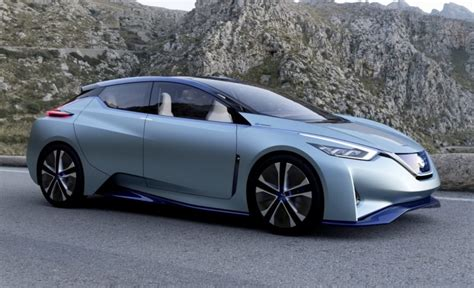 2020 Nissan Electric by Nissan Is Working On A New 340 Mile Range Electric Car