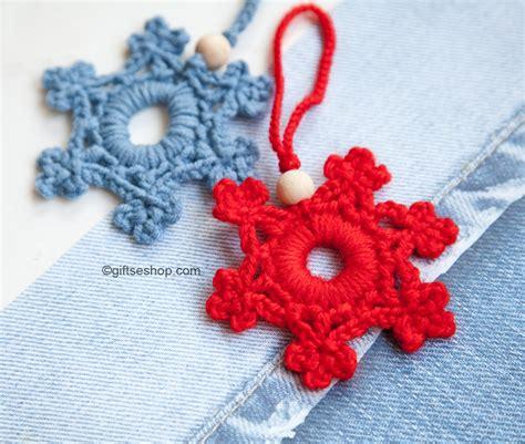 snowflake tree decoration snowflake pattern crochet snowflake tree