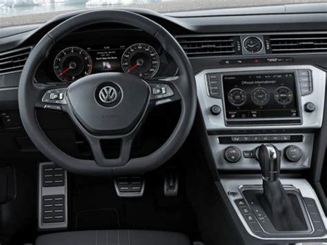 volkswagen passat 2016 interior 2016 volkswagen passat alltrack review