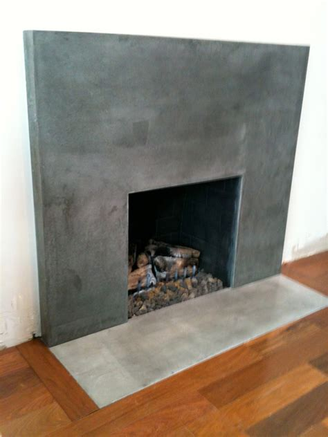 Concrete Fireplace Chicago Concrete Countertops Evanston Poured By Kerr
