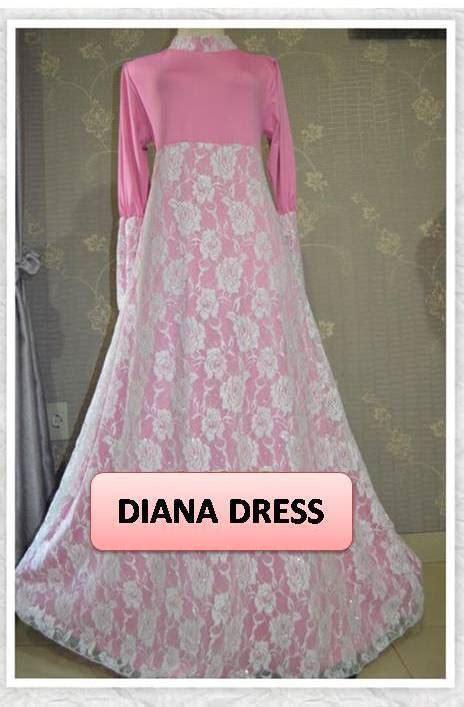 Baju Syar I 100 Buatan Designer gamis pesta brokat www outletbusanamuslim