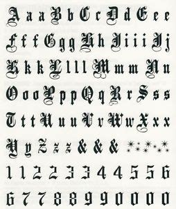tattoo font prices temporary tattoo letters ebay