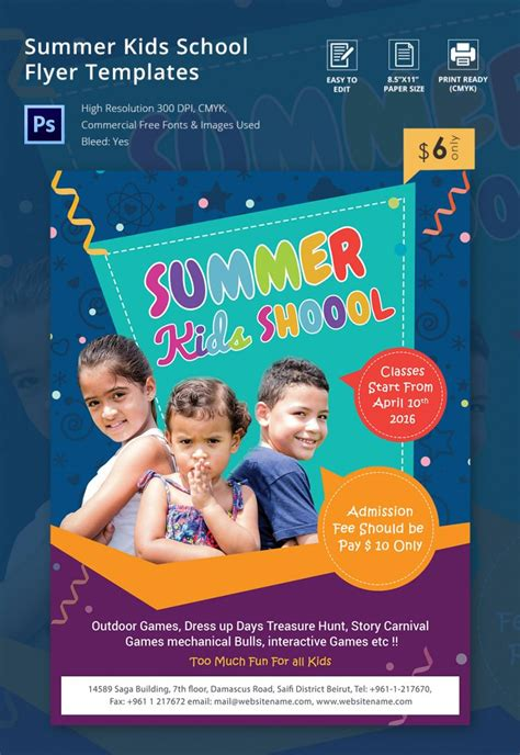 School Flyer Templates Yourweek Cdc50eeca25e Free School Flyer Templates