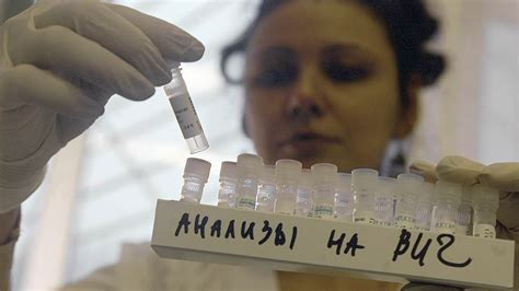Banks To Undergo Aids Test On Show by Uawire Russian Ministry Of Health Described The Hiv