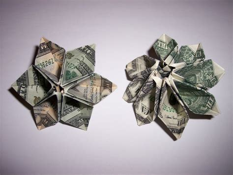 Origami Flower Dollar - bill dollar flower origami 171 embroidery origami