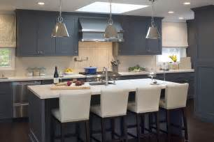 Kitchens With Blue Cabinets by Blue Kitchen Cabinets Contemporary Kitchen Artistic