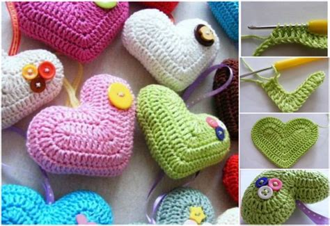 Home Decorating Tips For Beginners crochet 3d heart free pattern beesdiy com