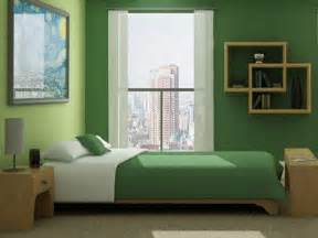 green is the color for creating healthy bedroom designs