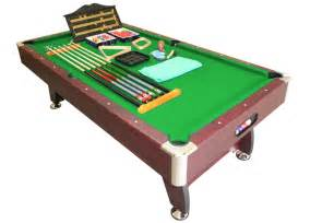 pool table 8ft pub size snooker billiard table green brand