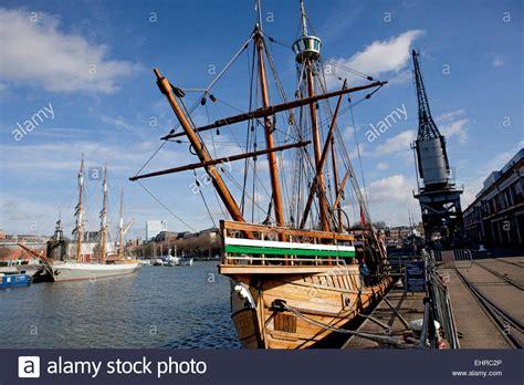 old boat in bristol john cabot ship stock photos john cabot ship stock