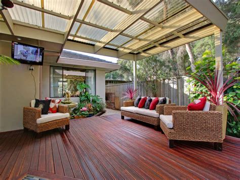 Alfresco Home Patio Furniture Outdoor Living Design With Deck From A Real Australian