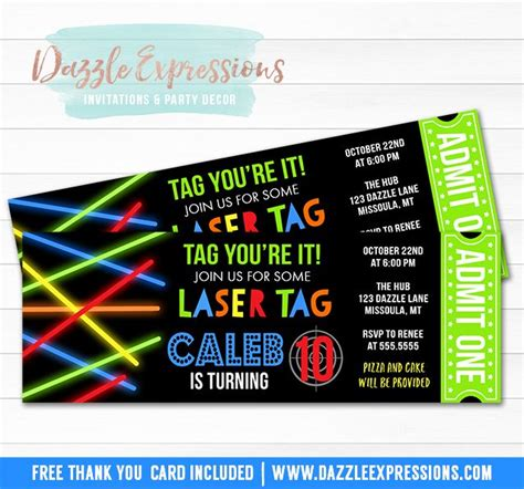 printable birthday invitations laser tag 17 best ideas about laser tag party on pinterest laser