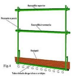 barandilla norma sistema de barandillas provisionales para protecci 243 n