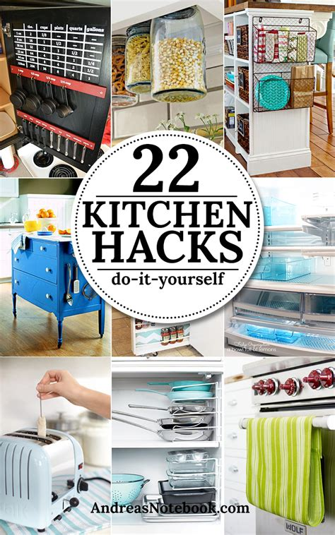 diy hacks kitchen organization hacks