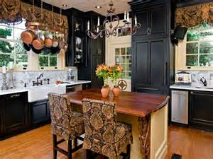 Black Kitchen Designs by 24 Black Kitchen Cabinet Designs Decorating Ideas